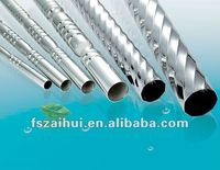 welded stainless steel embossed&empaistic pipes&tubes in grade 201,304,316,304L,316L