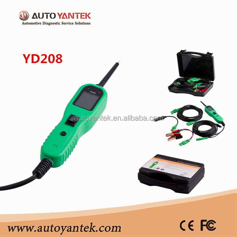 YANTEK Hot Selling Electrical System Diagnostics Power Probe Powerful Electric Circuit Tester Automotive Circuit Tester 12V 24V