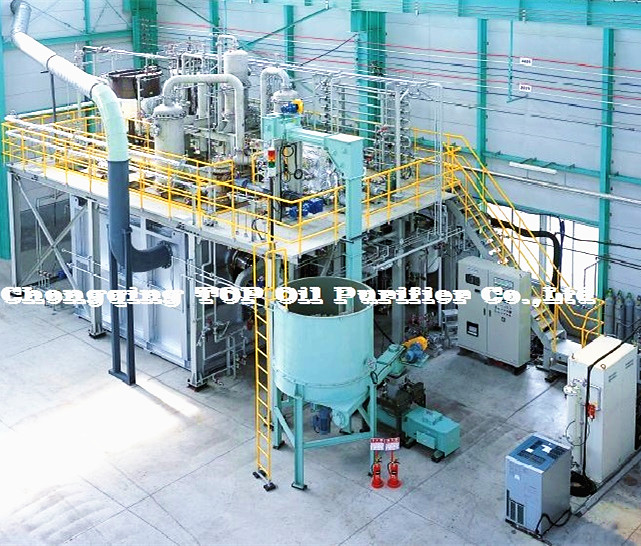 Fully Automatic Waste Tyre Oil Distillation Refinery Machine/Used Engine Oil Recycling Equipment/Car Oil Distiller Plant