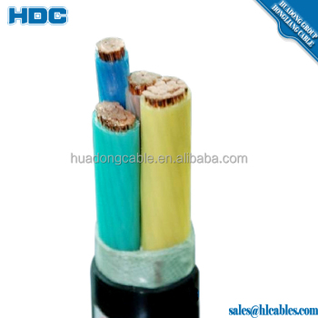 16mm2 cable 4 core 4x6mm 4x16mm 4x25mm pvc cable nyy cable