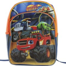 Machines Trucks School Backpack Book Bag 14""