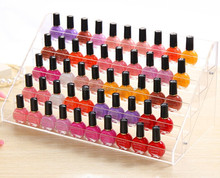 acrylic nail polish cosmetic organizer display rack