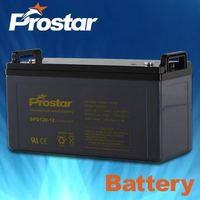 12V 120AH Deep Cycle AGM Battery for Solar System/UPS/Maintenance-free/High Discharging Capacity