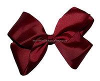 "Handmade hair accessories wholesale 5"" inch vintage hair bow holder"