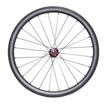 Cheap carbon fiber bike wheelsets 700c 40mm clincher carbon wheels 3k glossy finish road cycle carbon wheelset