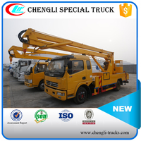 DONGFENG 100hp 4*2 16M Aerial Ladder Truck High Altitude Operation Truck