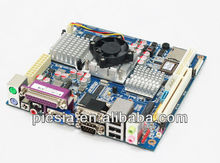 cheap ultrathin motherboard top915 socket 478 with 6*COM /8*USB/ LAN /ps2/ VGA from china manufacturer