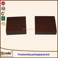 Wooden Box Velvet Lined Wood Transport