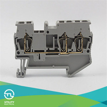 UTL JUT3-2.5/1-2 PT Electric Bus Bar Terminal Blocks phoenix contact one in two out connectors