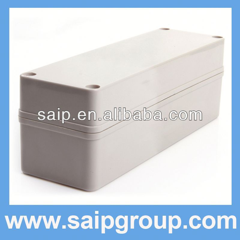 2013NEW ABS box IP65 hinged plastic enclosure DS-AG-0825-1(80*250*85)
