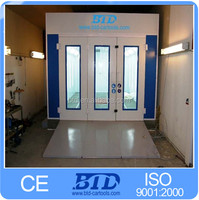 Outdoor gas oven spray booth car baking room BTD spray booth