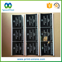 Expert in product printing adhesive hair labels for bundles good hair heat resistant labels sticker
