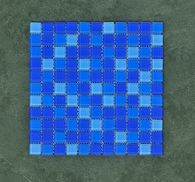 60 square meters glass blue color turquoise discontinued swimming pool tile mosaic