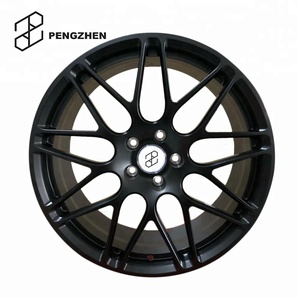 Forged black alloy rims replica hre wheels