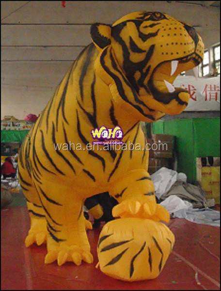 Inflatable tiger/4M/ /Giant custom inflatable animal