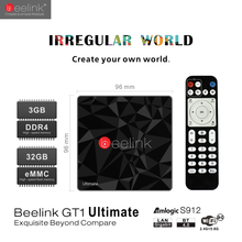 Beelink GT1 Ultimate TV Box 4K 3GB 32GB Android 7.1 Amlogic S912 WiFi 2.4G+5.8G