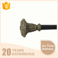 Ancient vintage easy matching high quality double curtain rod