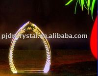 crystal craft award for 3D laser engraving
