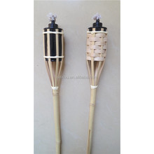Island Bamboo Tiki Torch for Yard Party