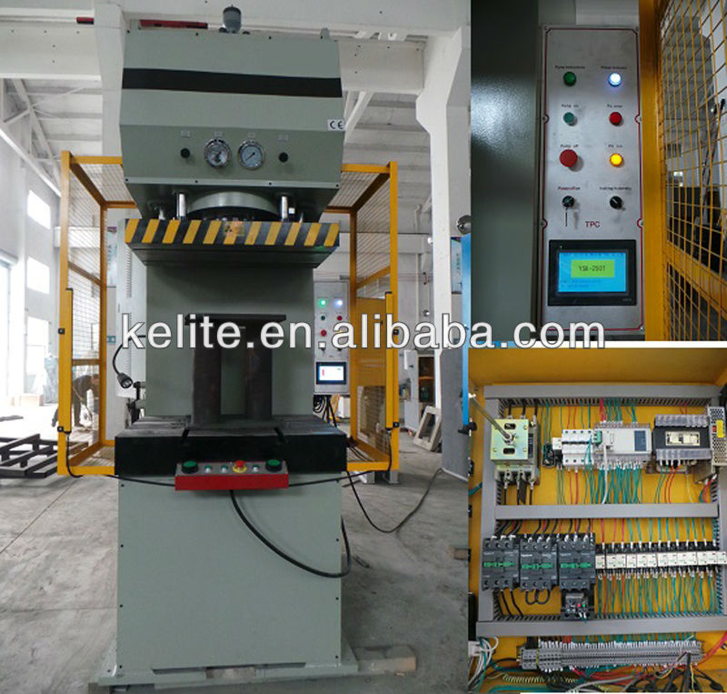 YSK-100T Series KLT Brand Hydraulic Metal Stamping Press Machine with C Frame YSK-100T