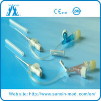 safety RIP cannula catheter y type pen type wing type injection port