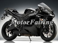 Wholesale - Motorcycle Fairing kit for KAWASAKI Ninja ZX6R 07 08 ZX 6R 2007 2008 ZX-6R 636 07-08 2007 2008 Black