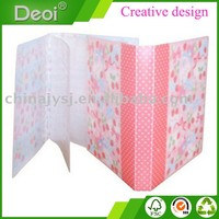 Deoi customized PP Polypropylene Plastic Photo Albums made in shanghai professional OEM factory
