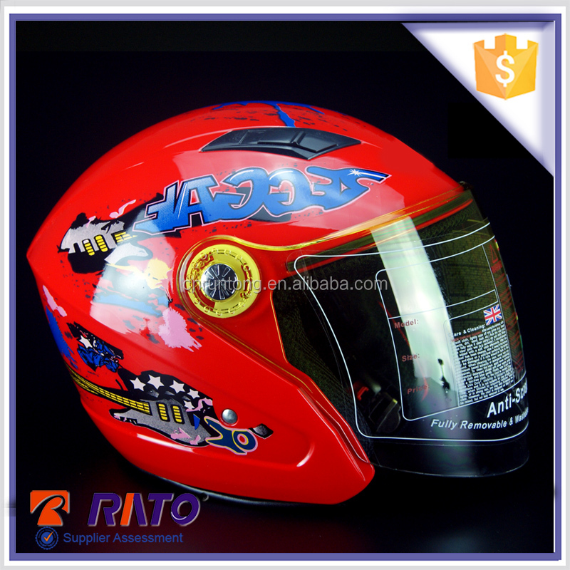 Colorful motorcycle nolan open face helmet manufacturing process