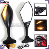 BJ-RM-016 Carbon Motorcycle Mirror LED Turn Signal for Yamaha YZF R1