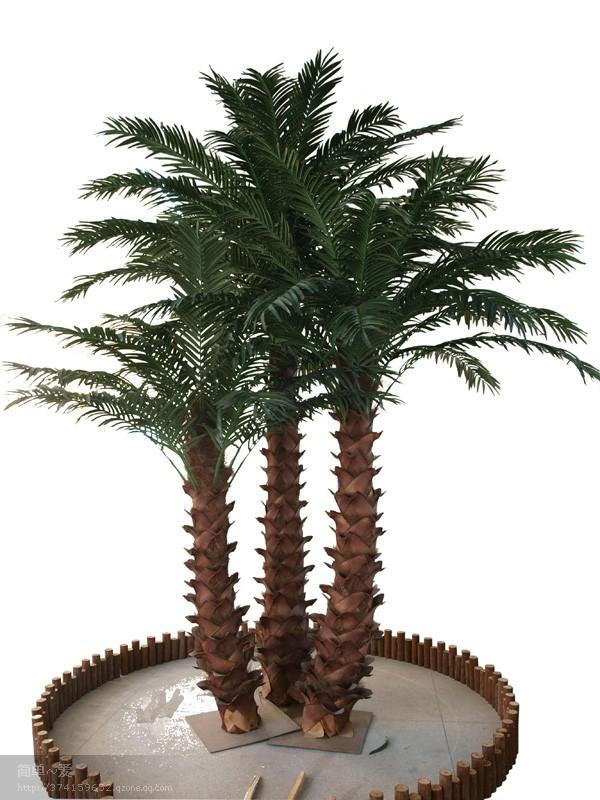 2014 artificiels canaries palmier haute qualit plante for Plante verte haute exterieur