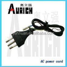 Ac Textile Power Cord for Steam Iron use cotton cable supply knit mesh braided electric wire lead