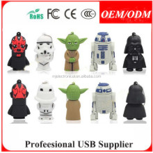 Superhero/Iron man/Star War USB 2.0 Memory Stick Flash pen Drive 4GB-32G , Free sample