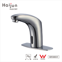 Haijun 2017 China Wholesale Thermostatic Lavatory Basin Automatic Sensor Mixer Faucet