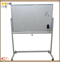 Movable Magnetic Writing Board Mobile Whiteboard with aluminum frame