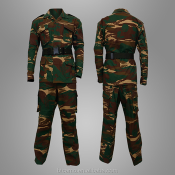 Good Quality Security Uniform Design Woodland Uniform