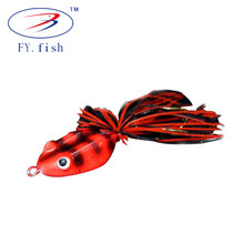 China wholesale best artificial bass soft plastic frog lure fishing for sale
