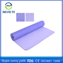 Folding Exercise Carry Fitness Yoga Floor Mat with 6mm 8mm and 10 mm Thickness