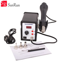 700W Hot Air Gun 858D+ ESD Soldering Station LED Digital Desoldering Station Upgrade from 858D