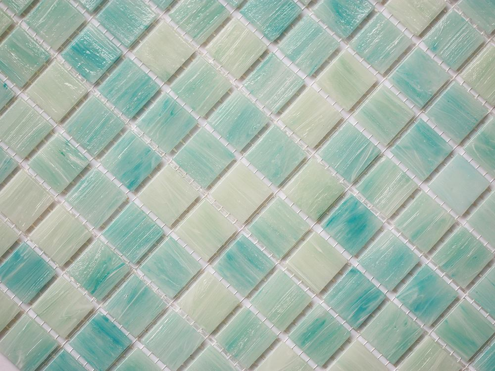 The high-end blue cloud drawing glass mosaic tile manufacturers selling