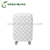2014 new pattern fresh printing ABS+PC four wheels travel trolley suitcase for girls travel