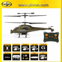 rc helicopter for kids to play W2402 3.5ch Gunship Helicopter