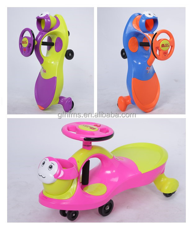 High Quality With Good Price Top Sell PP Material Kids Toy Ride On Swing Car