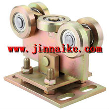 iron Q235 cantilever door wheel five rollers for sliding track manufacturer