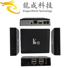 full stock KIII 2G 16G Andorid 5.1 Amlogic S905 mini hd satellite receiver 4k setup box tv