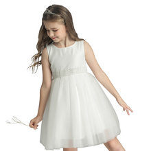 Fashion new design kids evening gowns <strong>girl's</strong> wedding <strong>dress</strong>