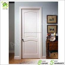 White solid custom wood interior doors kitchen room swinging doors