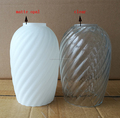 Surface Swirling Glass Lampshades With Different Appearance Effect