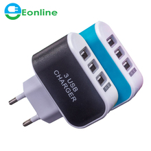 5V 3.1A Universal USB charging Adapter Wall Portable charger EU US Plug Mobile Phone Smart Charger for Phone Charger