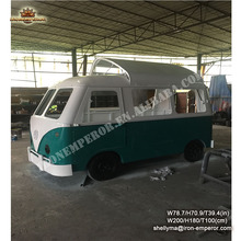 Custom Dining Car model / Mobile Fast Food car/handmade metal car model for sale