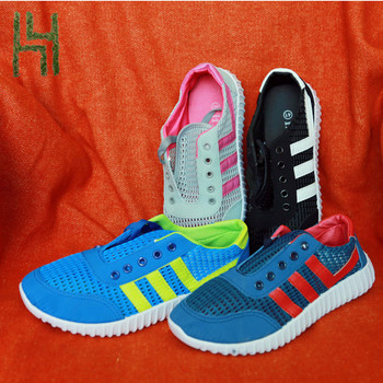 Quanzhou Breatheable Mesh Sports Running women shoes 2017 girls